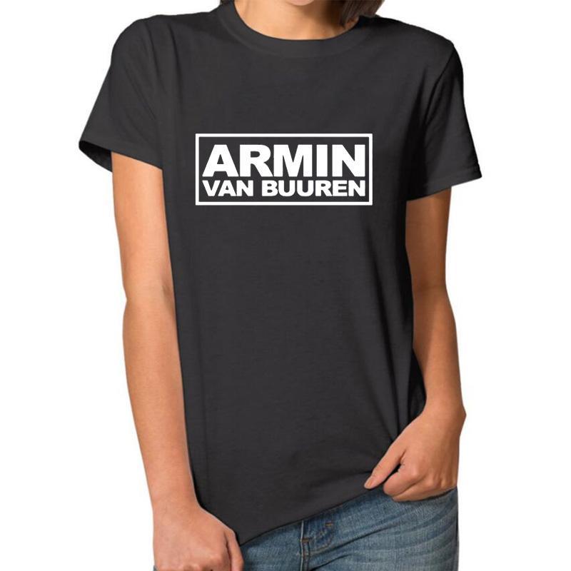 Compre Camiseta De Mujer Armin Van Buuren Carta De Impresión Hombres    Mujeres Rock Band Punk T Shirt Negro Blanco Camisetas De Algodón Tops  Hipster Venta ... 892f56f3c9e