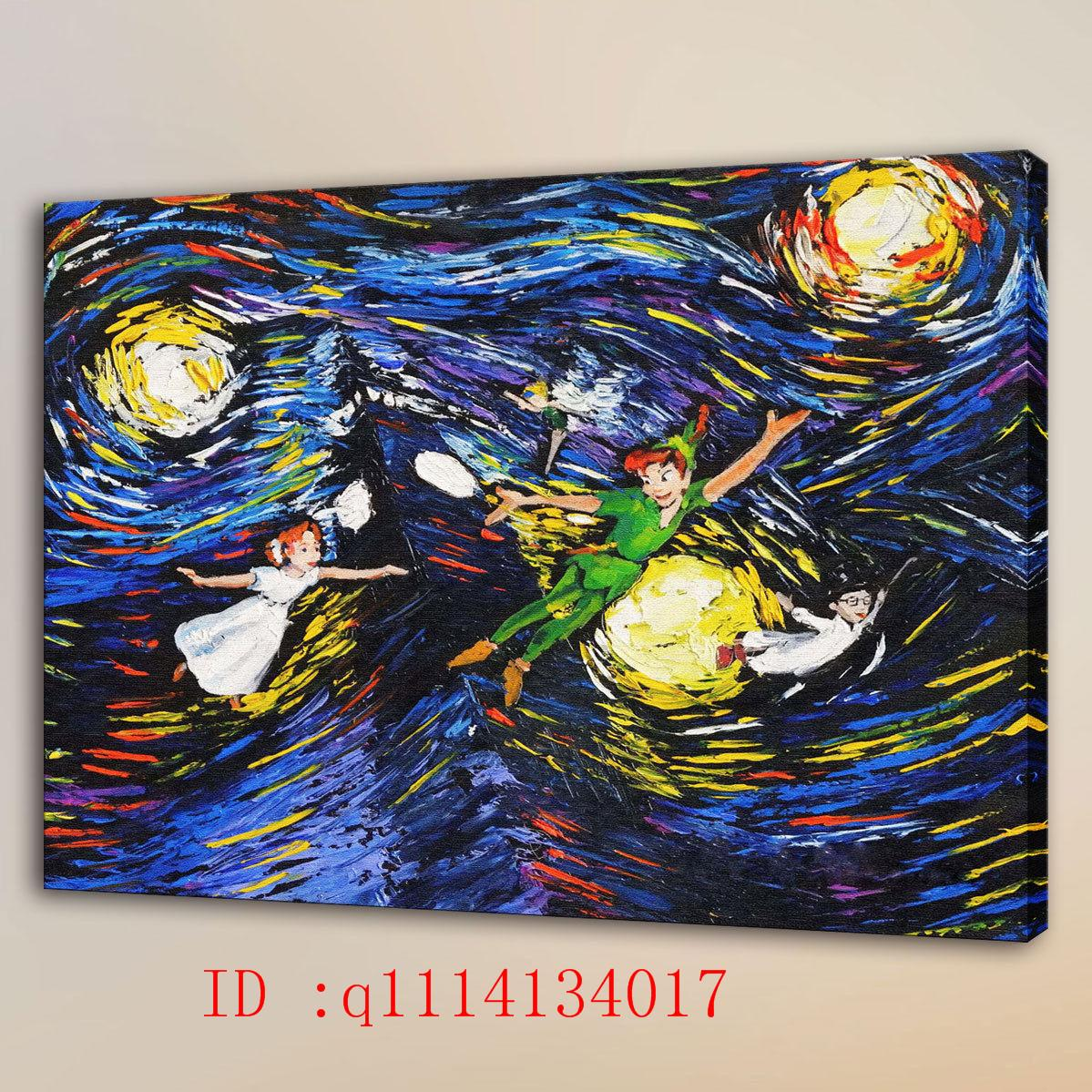 Großhandel Van Gogh 8 Hd Leinwand Wandkunst Ölgemälde Home Decor ...