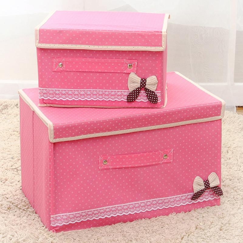 2018 Solid Foldable Non Woven Fabric Cube Storage Box Bins Closet Organizer  Toys Container Drawers Clothes Baskets For Home Office From Tanguimei6, ...