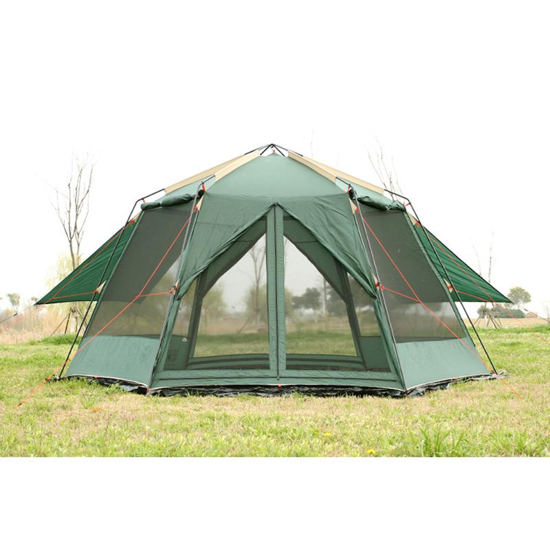 Double Layer Uv Hexagonal Anti Mosquito Large Shade Canopy Pergola