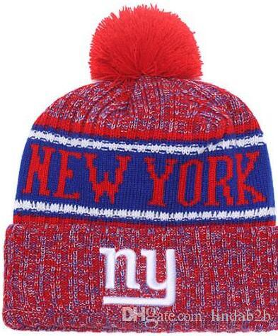e9eaeeacee7 2019 2019 Team Giants Beanies NY Caps Pom Sports Hat Men Women 32 Teams All  Caps Knitted Hat Top Quality Hat More 5000+Styles From Lindab2b