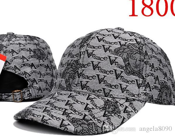 2018 New Style Long Brim Golf Baseball Caps Classic Embroidery Hip ... a7a6ce455520