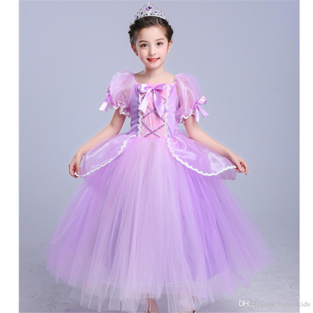Grosshandel Kinder Madchen Prinzessin Kleid Halloween Kostum Fur