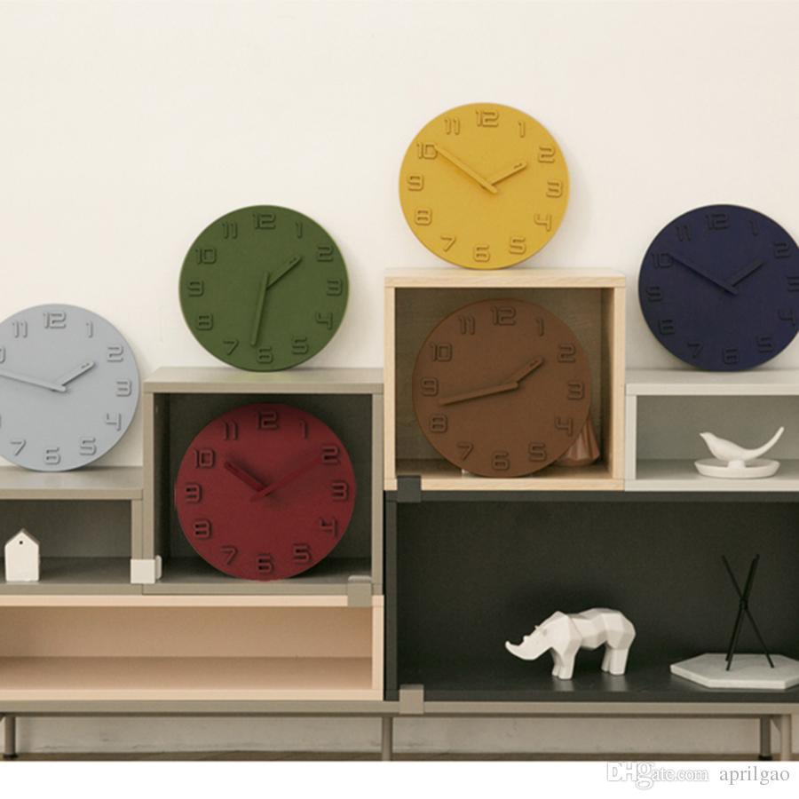 Großhandel Stumm Cartoon Quart Uhr Retro Kunst Vintage Wohnkultur ...