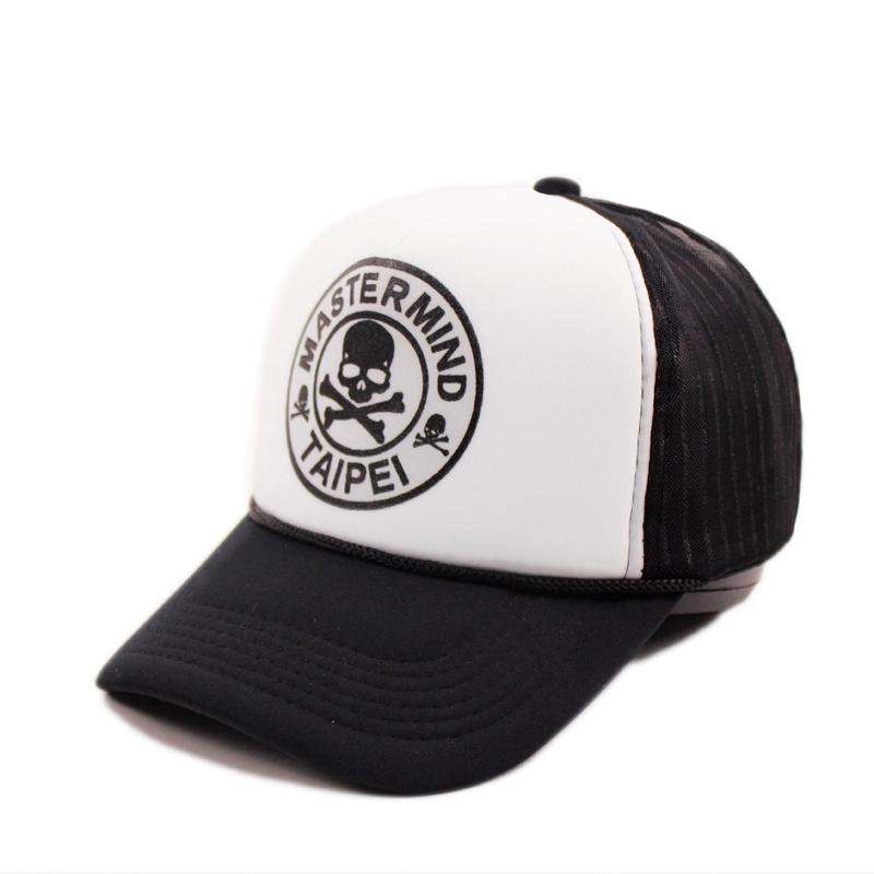 2018 New Design Skull Design Printing Caps Cotton Mesh Baseball Caps Adult  Unisex Casual Fashion Outdoor Sports College Athletic Basecaps Hats For  Sale From ... e8ff9bb35a05