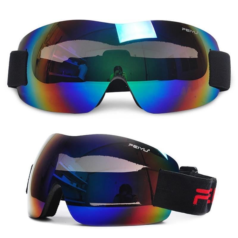 Compre Moda Óculos De Esqui Mulheres Homens PC Camada Única Proteção UV  Anti Nevoeiro Esponja Esportes Escalada Óculos De Ciclismo Eyewear De  Jumeiluo, ... f31af6cc25