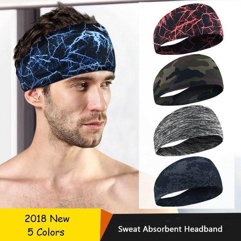 19f7e4c0242d 2019 Wholesale Dropshipping Absorbent Headband Sweatband For Men Women Yoga  Hair Head Sweat Head Band 2018 NEW Sports Fitness Running From Yiquanwater