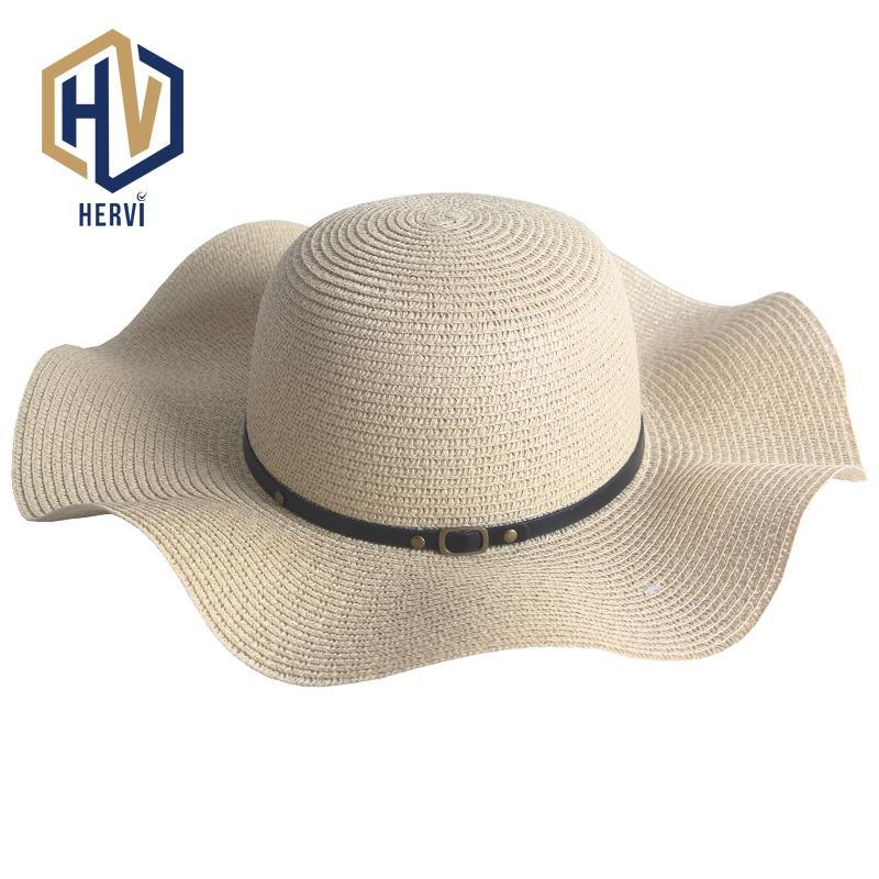 526efd1c Top Brand Dropshipping Fashion Elegant Women Hat Summer Leisure Female Hat  Sun Shade Beach Straw Hats Wholesale Chapeu NS43-A