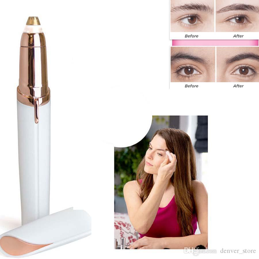 Hair Remover Mini Electric Painless Shaver Eyebrow Trimmer Hot Face