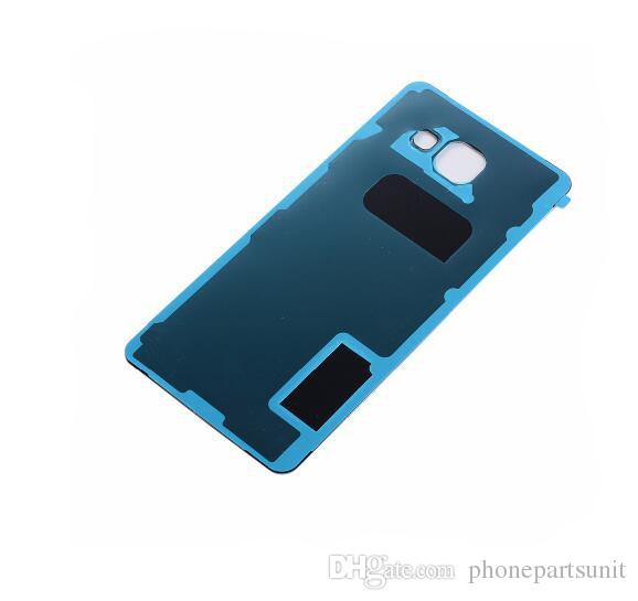 Housing Battery Door Cover For Samsung A5 A510 A510F 2016 Back glass cover with Adhesive