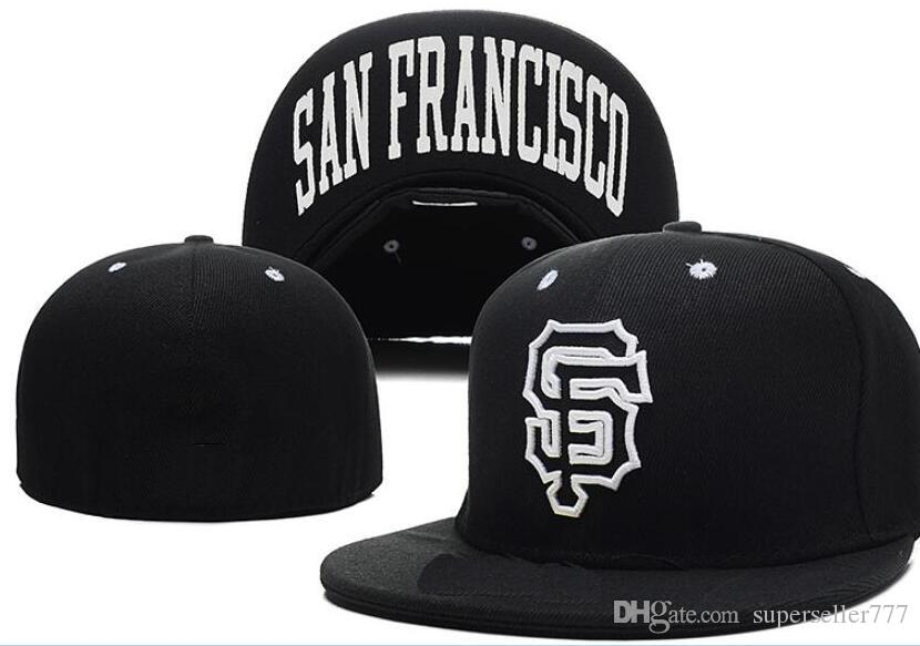Fitted Hats Sunhat SF Giants Hat Cap Team Baseball Embroidered Team Flat  Brim Hats Baseball Size Cap Brands Sports Chapeu For Men Women Hatland  Brixton Hats ... 8e902295414