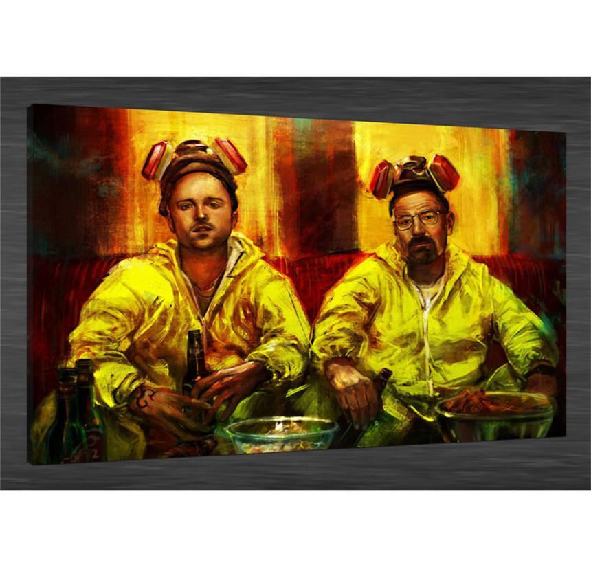 2019 Breaking Bad Aaron Paul BryanHome Decor HD Printed Modern Art Painting On Canvas Unframed Framed From Xianghuichun 598