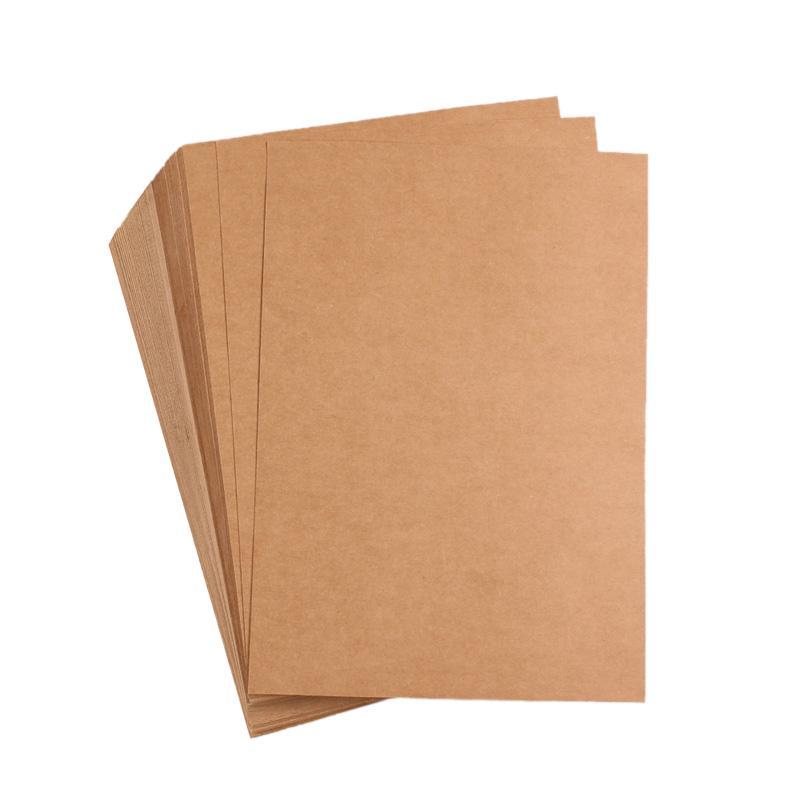 a4 brown kraft paper diy card making craft paper 100gsm 337gsm