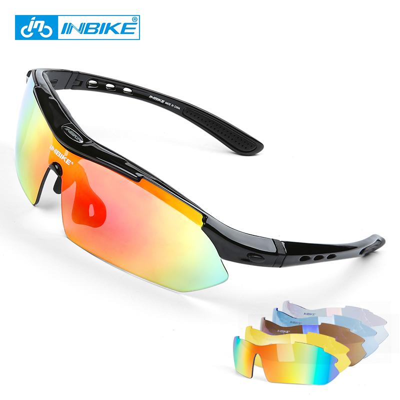 548c8eb14d8 2019 INBIKE Cycling Glasses UV Proof Polarized 5 Lens Frame Eyewear Bike Bicycle  Glasses Outdoor Sport Goggle Drive Sunglasses 619 From Pearguo