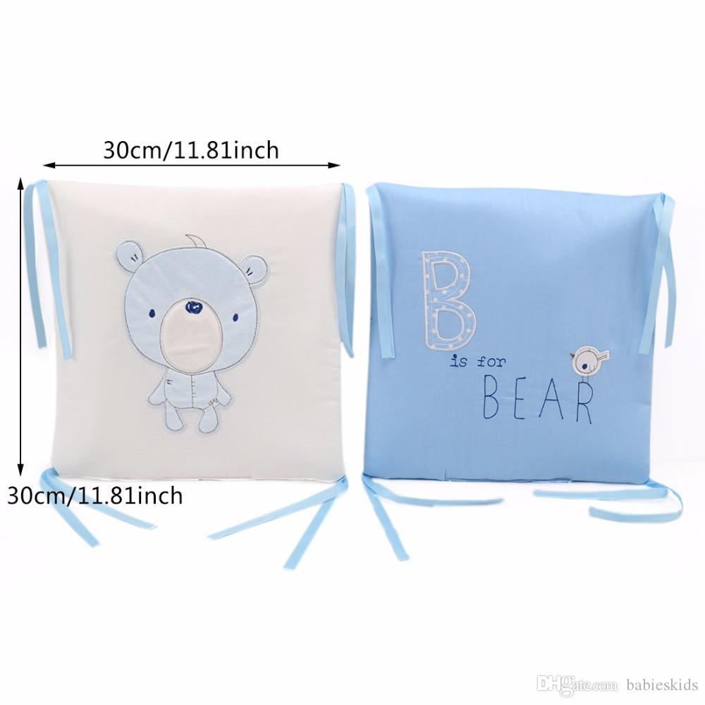 Breathable Baby Bed Bumper Back Cushion in the Crib Cot Bumper Baby Bed Protector Crib Bumper Newborns Toddler Bed Bedding Set