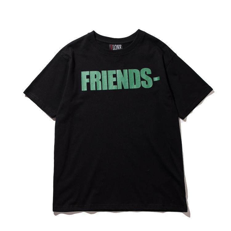 Newest Vlone snake printed t shirt for men 2017 Fashion mens cotton Friend Skateboard Hip Hop T Shirt tee top clothing