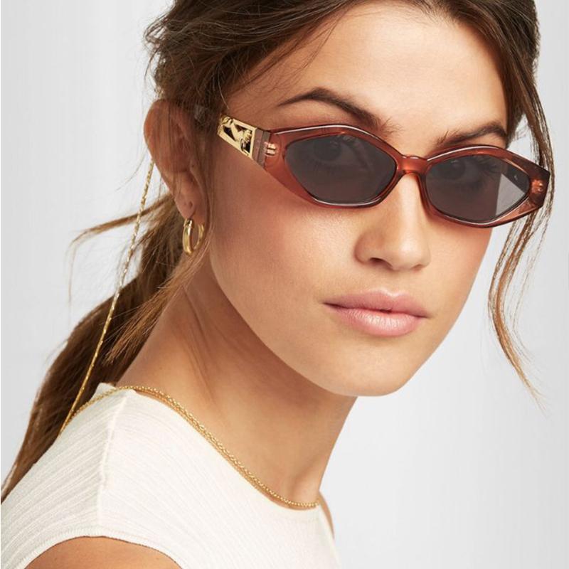 3cbf1dfb13b6 ROYAL GIRL Vintage Cat Eye Sunglasses Women 2018 Brand Designer Modern Sun  Glasses Female Black Red Frame Oculos UV400 Ss623 Sunglasses At Night  Sunglasses ...