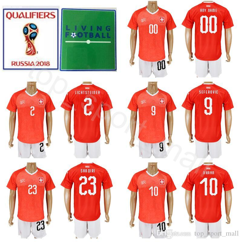 d8ec99d5d16 ... 2018 switzerland 2018 world cup 9 haris seferovic jersey set men 10  granit xhaka 23 xherdan
