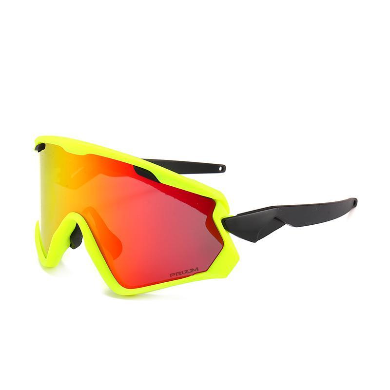27fb70e0aae New Cycling Glasses 3 Lens UV400 Bicycle Cycling Sunglasses Men ...