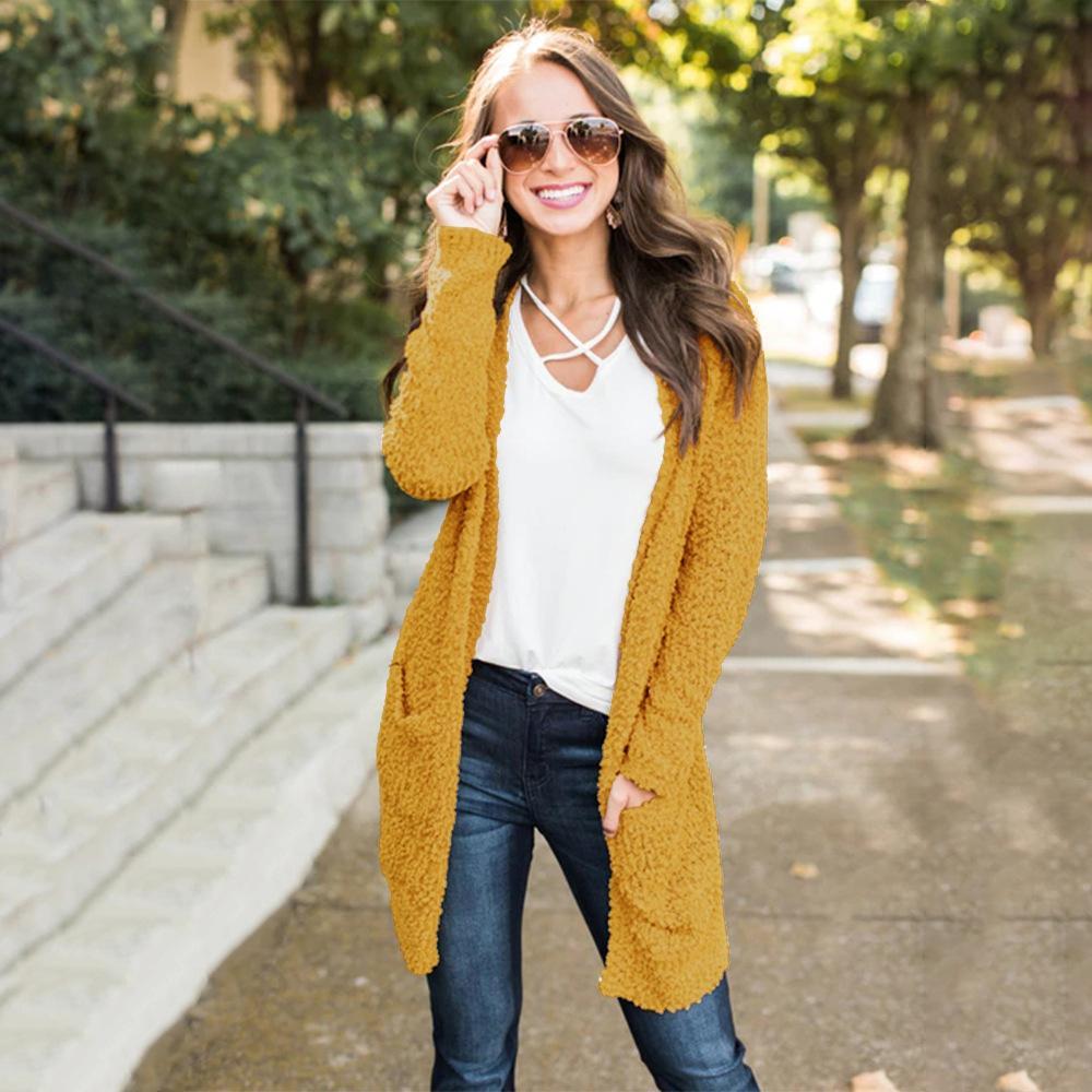 f2059c805416 2019 Cardigan Sweater Women Winter Cardigans Long Sweater Coat ...