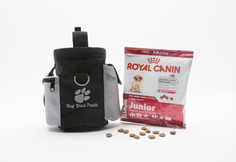Cucciolo di cane cucciolo Obedience Agility Bait Training Food Treat Pouch Bag impermeabile