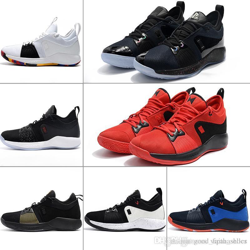 huge selection of 00f68 a0772 Nike Air Max Supreme Vapormax Off White NmCaiga El Envío Zapatos De  Baloncesto Paul George 2 PG II Para La Parte Superior Barata PG2 2S Starry  Blue Orange ...