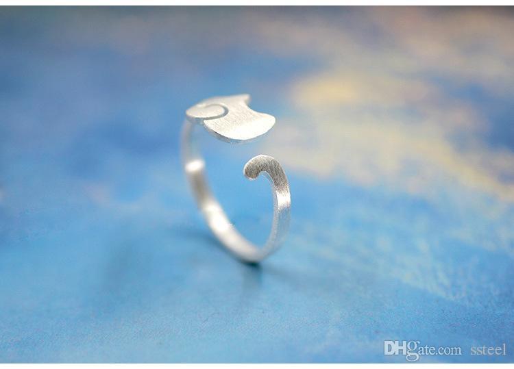 10 unids oro / plata pequeño anillo de elefante Dumbo Flying Elephant Ring anillo de ajuste regalo de la joyería anillo para el mejor amigo