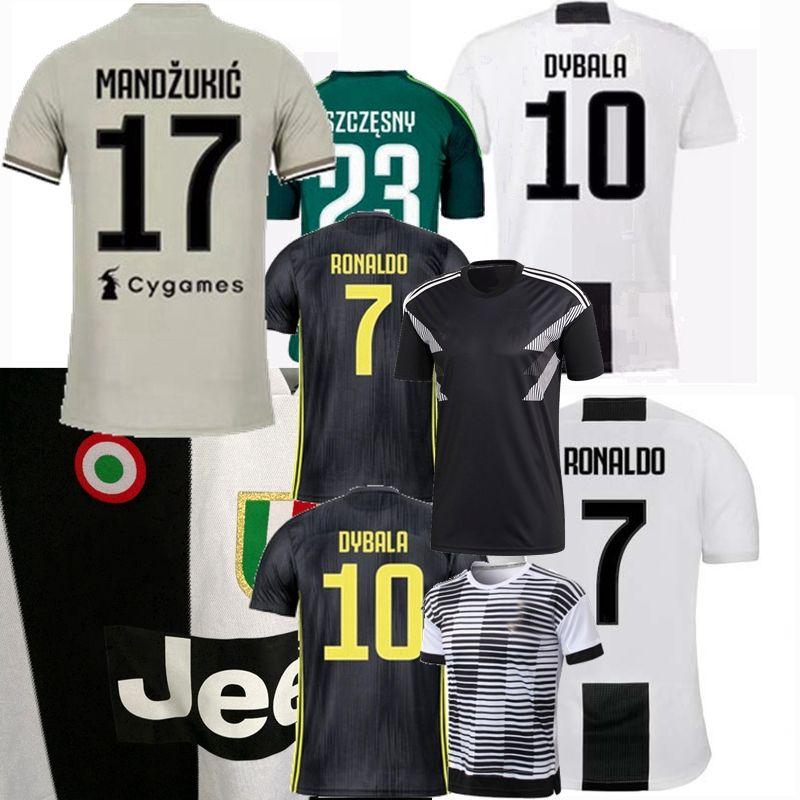 fe3039092 DYBALA MATUIDI 18 19 RONALDO Juventus Soccer Jersey Home Goalkeeper Soccer  2018 2019 CUADRADO CHIELLINI FOOTBALL Goalkeeper Shirt CHIELLINI Jersey D.  COSTA ...