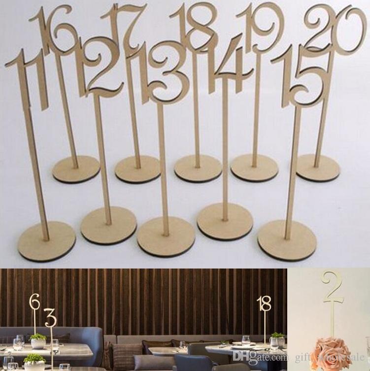 2019 Hot Rustic Hessian Wedding Table Decoration Wooden Wedding