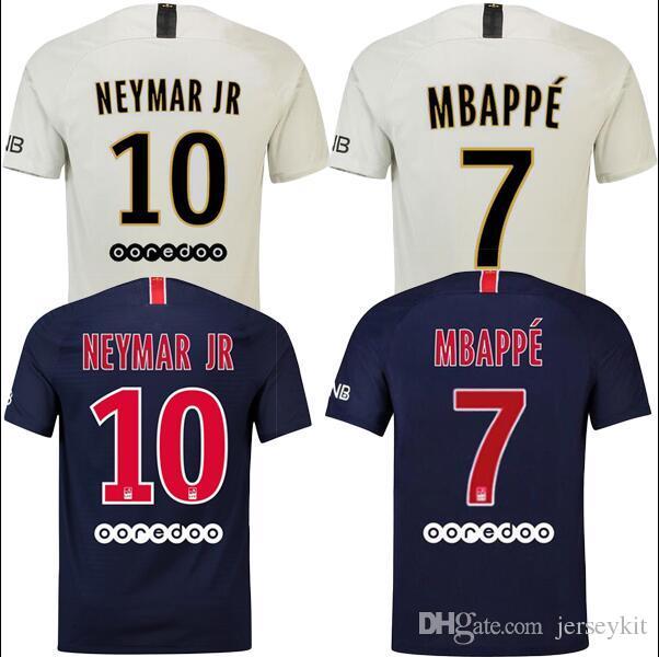 2018 2019 PSG Third Maillot MBAPPE Soccer Jersey CAVANI VERRATTI Top  Thailand 18 19 Paris Football Shirt KIMPEMBE Camiseta De Futbol Psg Psg  Jerseys Psg 3rd ... 336be355a