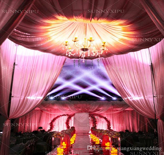 Acrylic Crystal LED Wedding Lamp Road Lead Lights 5 to 12 Arms for Decoration and Photo Taking