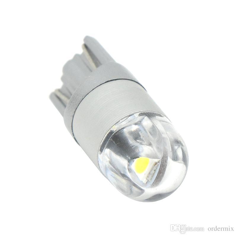 T10 LED White/Blue/Yellow/Ice Blue/Red 2SMD 3030 W5W Car Side Marker lights Turn Side License Plate Light Lamp Bulb DC 12V