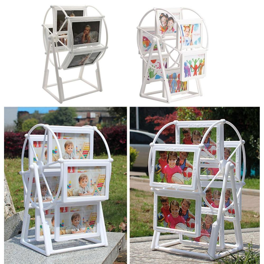 2018 White Photo Frame Picture Frames Ferris Wheel Windmill Shape ...