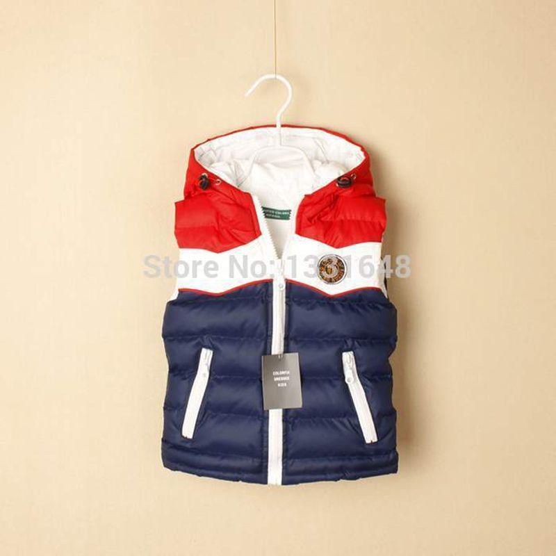e4f73ca1e Retail Top Quality Brand New Fashion Coat Baby Children Kids Vest ...