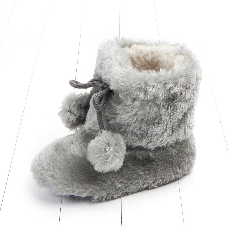 22ff18e1f6e4 Infant Girl Winter Boots Autumn Baby Boot Keep Warm Artificial Hair Ball  Newborn Baby Boot Soft Toddler Girls Boys Booties Boots For Girl Boys Winter  Boots ...