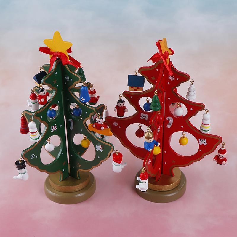 2fd29d85577 Compre 3D De Dibujos Animados De Madera Animal Snowflak Árbol De Navidad  Decoración De Navidad Regalo Adorno Mesa Escritorio Decoración Fiesta En  Casa ...