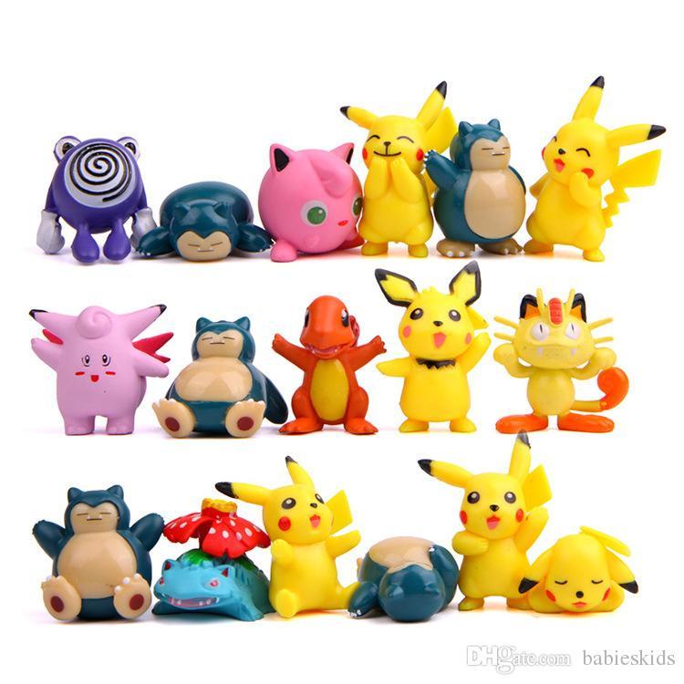 Cute Baby Toy PVC Figuras de acción Colección Pet Shop Video Modelo de dibujos animados Muñeca Para niño niña Cumpleaños Festivel Regalo para niños