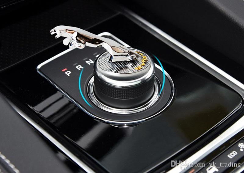 Jaguar XE XF XFL XJ F-PACE Car leva del cambio auto cambio frizione emblema adesivo decalcomania