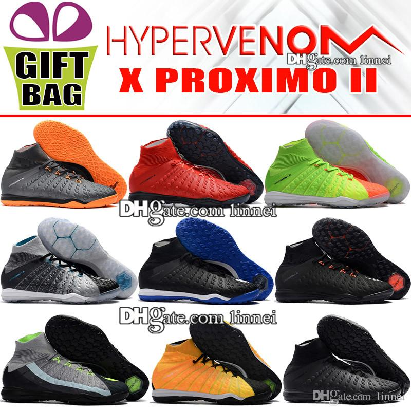 609309bb20 Compre Mens Original HypervenomX Proximo II Botas De Futebol Chuteiras  Indoor IC IC Hypervenom Meias De Futebol Chuteiras De Alta Top Sapatos De  Futebol De ...