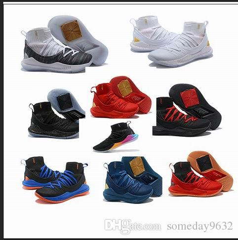 8424fcabd9e3e7 Hot 2018 Stephen Curry 5 Gao Bang Casual Shoes Steph PIDAY Men ...