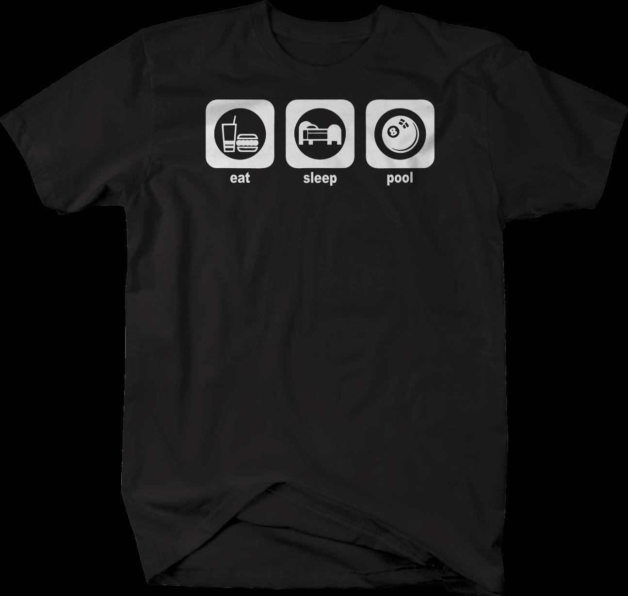 4e0482d4ee Eat Sleep Pool Billiards Tshirt Funny Unisex Tee Awesome Cheap T Shirts  Online Shopping For T Shirt From Stshirt, $12.96| DHgate.Com