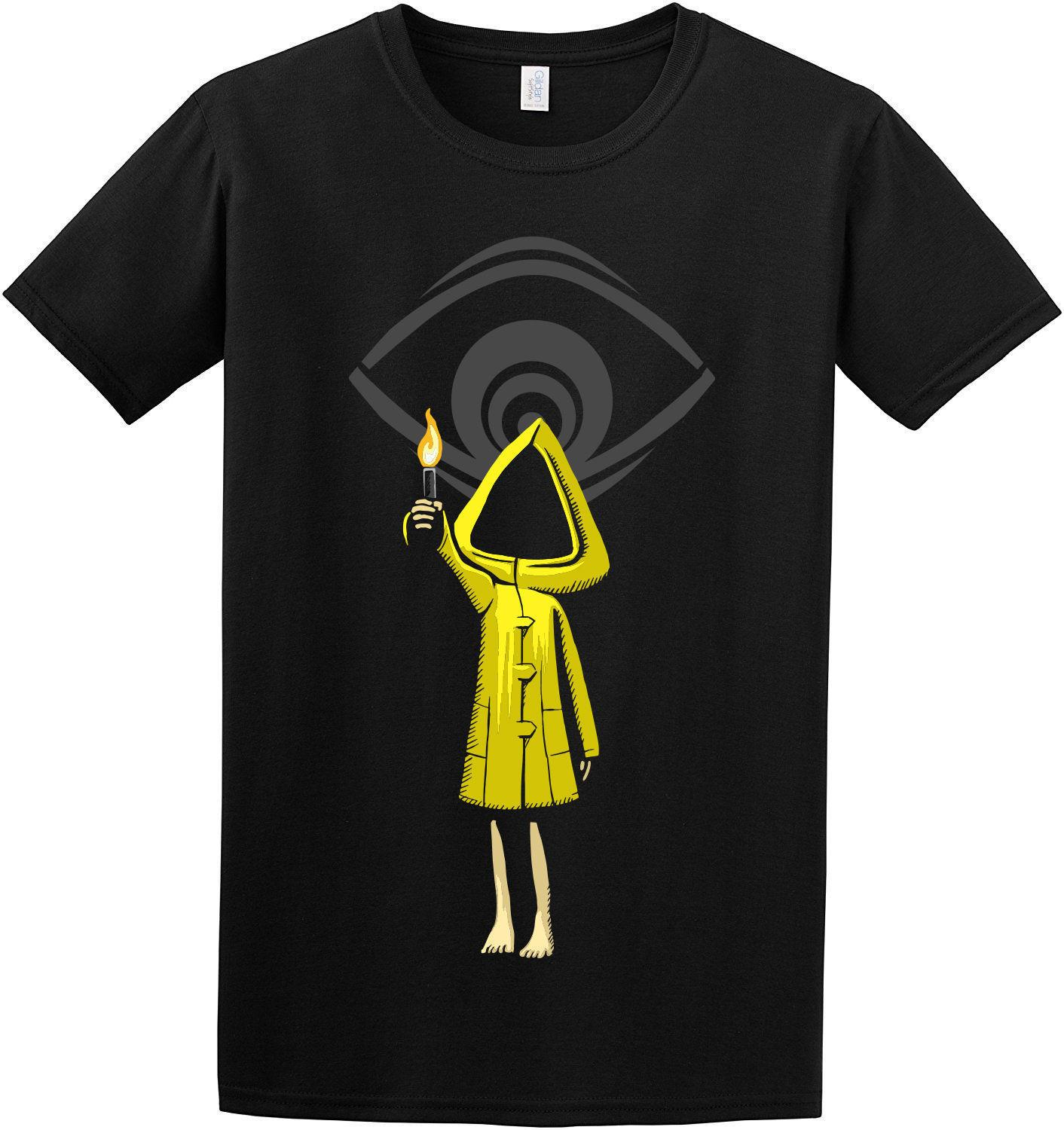Limited Little Nightmares Six Maw Cool Creepy Design Camiseta negra Talla S-5XL