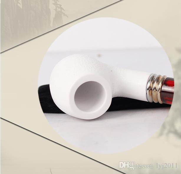 Sepiolite pipe and resin pipe can be disassembled and washed and filtered.