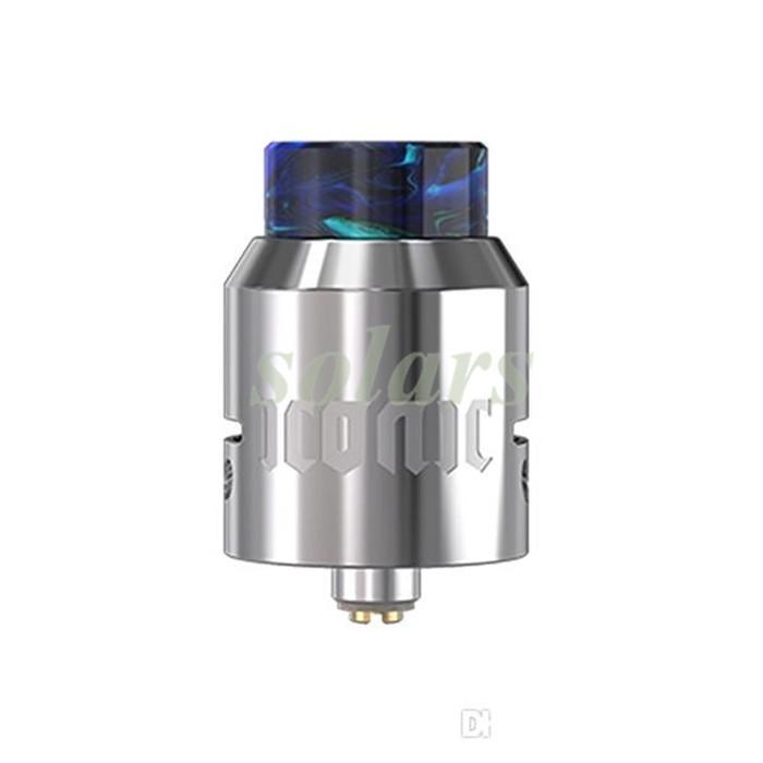 100% Orijinal Vandyvape Ikonik RDA Atomizer 25mm Çap Yükseltilmiş Simge RDA Tankı Çift Bobin Yeniden Yapılandırılabilir Kelepçe Mesaj Mikevapes ve Geek Vape