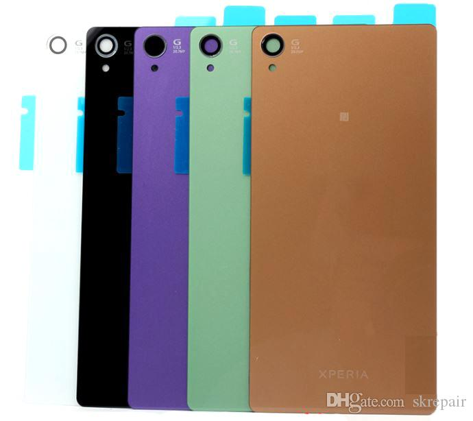 for Sony Xperia Z4 Z3+ Dual E6553 E6533 Housing Battery Cover Case Rear Battery Door Back Housing cover Replacement Parts