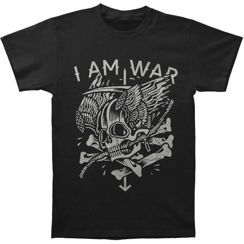 Camiseta Am I Calavera Alada War Con Para HombrePequeñaNegra LMVpGqSzjU