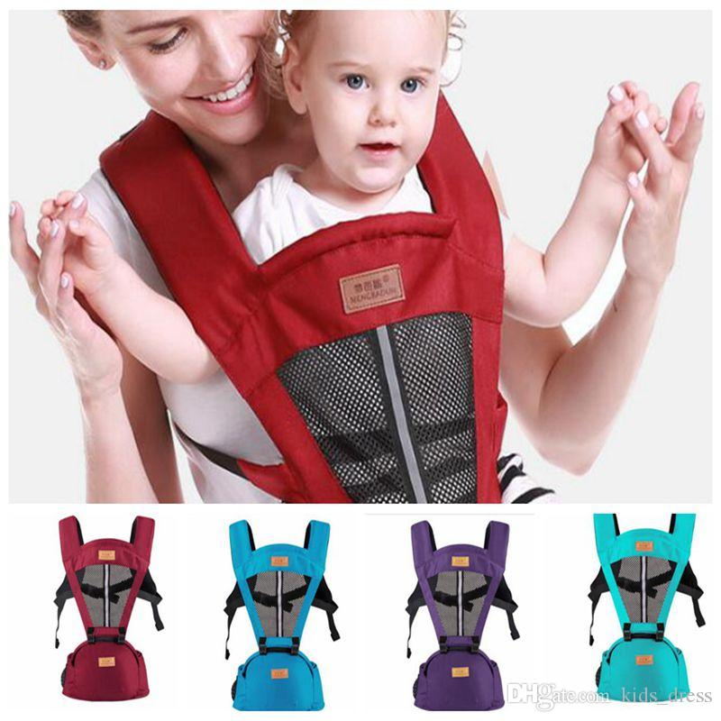 2018 Baby Breathable Wrap Carriers Waist Stool Shoulders Straps