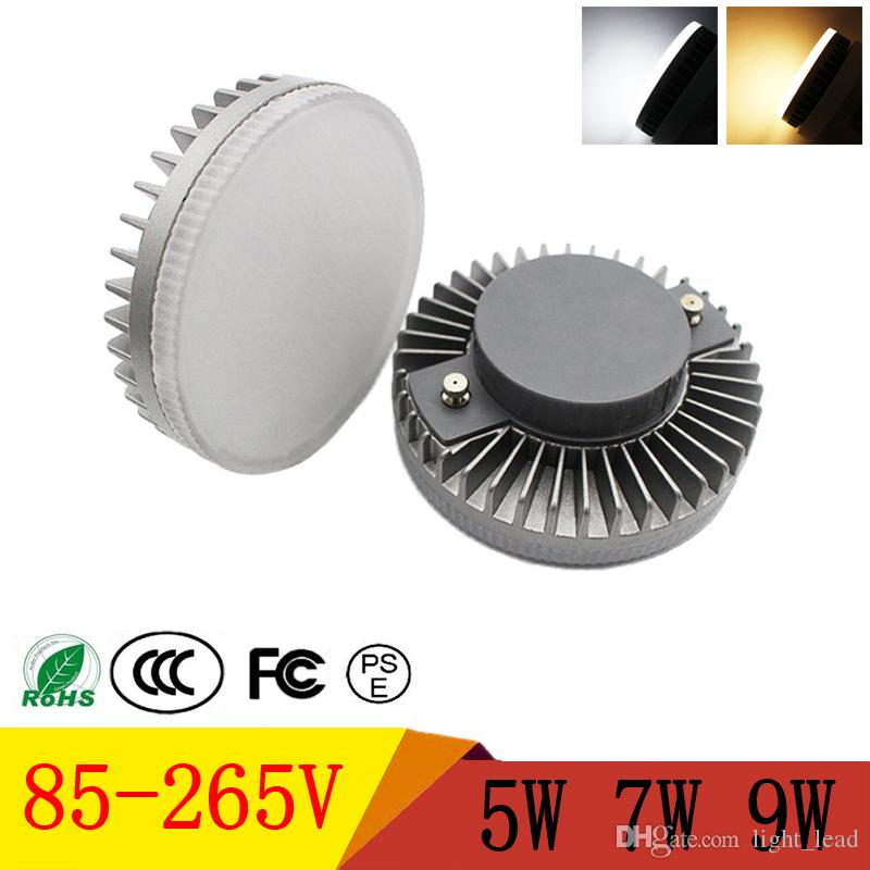 GX53 LED Light Cabinet SMD2835 5W 7W 9W Led Lampadine 85-265V Lampade LED ad alta luminosità Spotlight