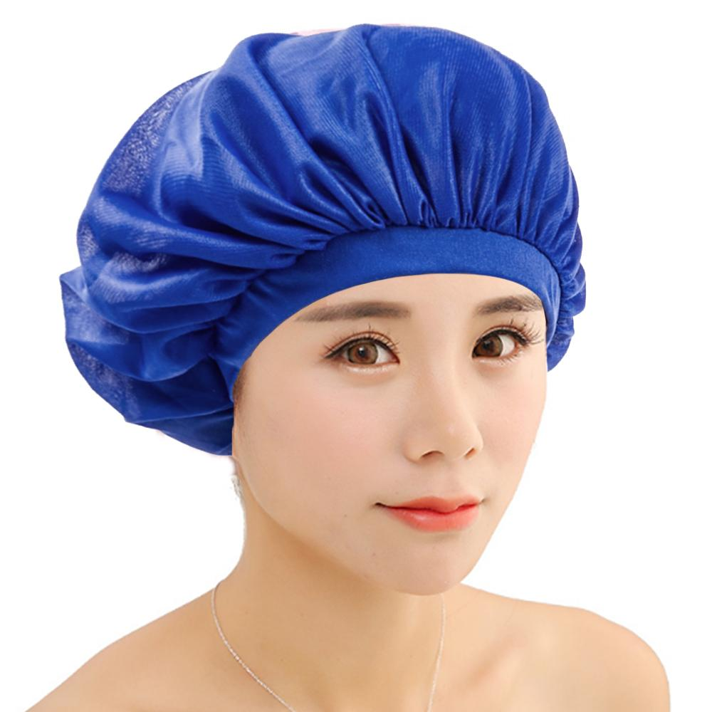 New Sleeping Hat Night Sleep Cap Hair Care Satin Bonnet Nightcap For Women  Men UK 2019 From Harriete 5a4b52c2f54
