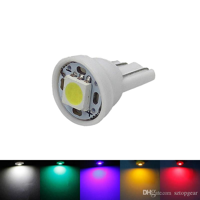 Grosshandel T10 W5w 5050 1 Smd Led Lampe 194 168 Auto Auto Side Wedge